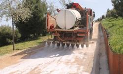 estabilización y sellado de caminos